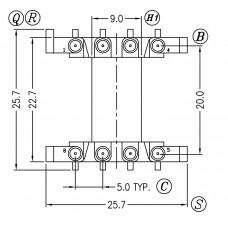 EF25-H-1-8 Bobbins
