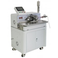 KS-W113 Automatic Wire Cut, Strip, Twist and Solder Tinning Machine