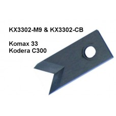 Komax 33/Kodera C300 Short Blade (Carbide)